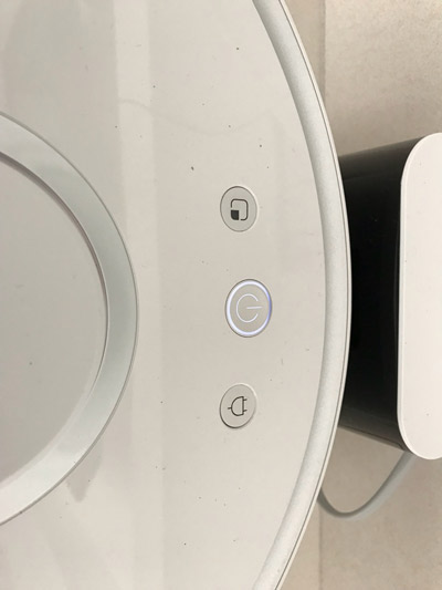 Xiaomi Roborock Sweep One in der Ladestation
